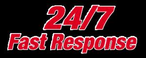 24/7 plumbing response